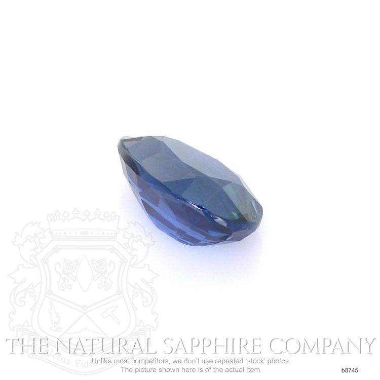 Natural Untreated Blue Sapphire B8745 Image 3