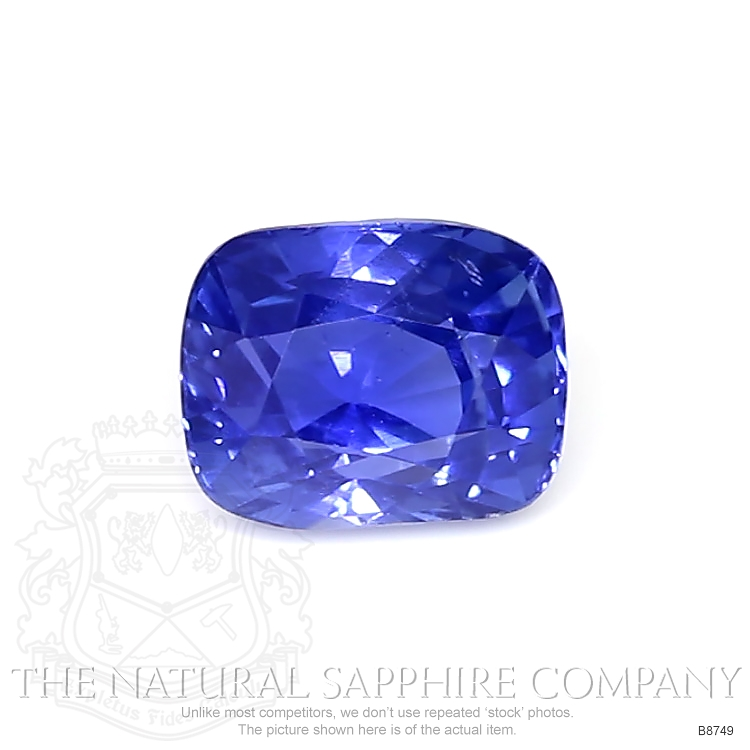 Natural Untreated Blue Sapphire B8749 Image