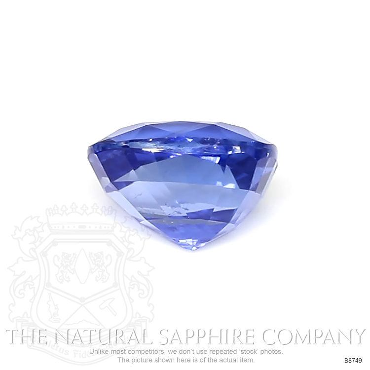 Natural Untreated Blue Sapphire B8749 Image 2