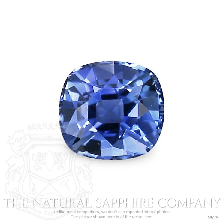 Natural Untreated Blue Sapphire B8776 Image