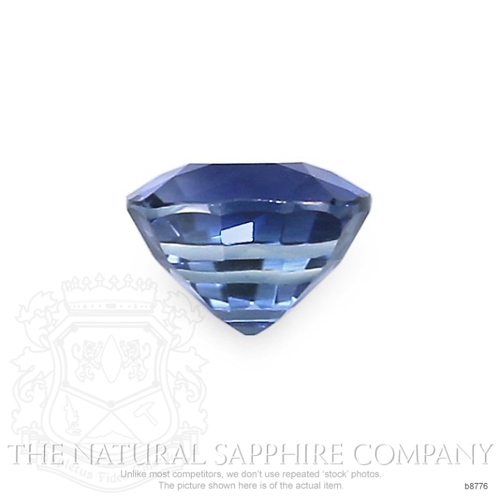 Natural Untreated Blue Sapphire B8776 Image 2