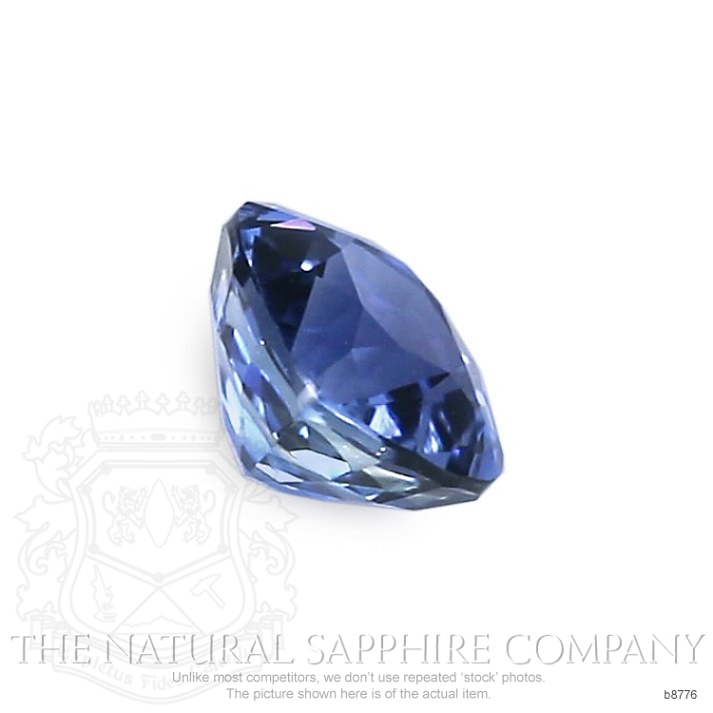 Natural Untreated Blue Sapphire B8776 Image 3
