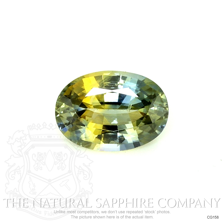 Natural Untreated Bi Color Sapphire CG158 Image