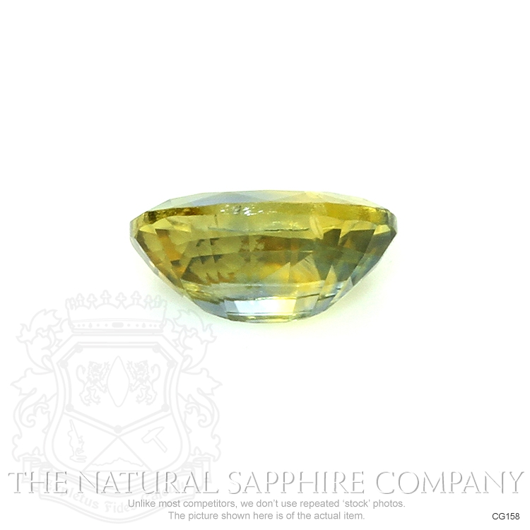Natural Untreated Bi Color Sapphire CG158 Image 2