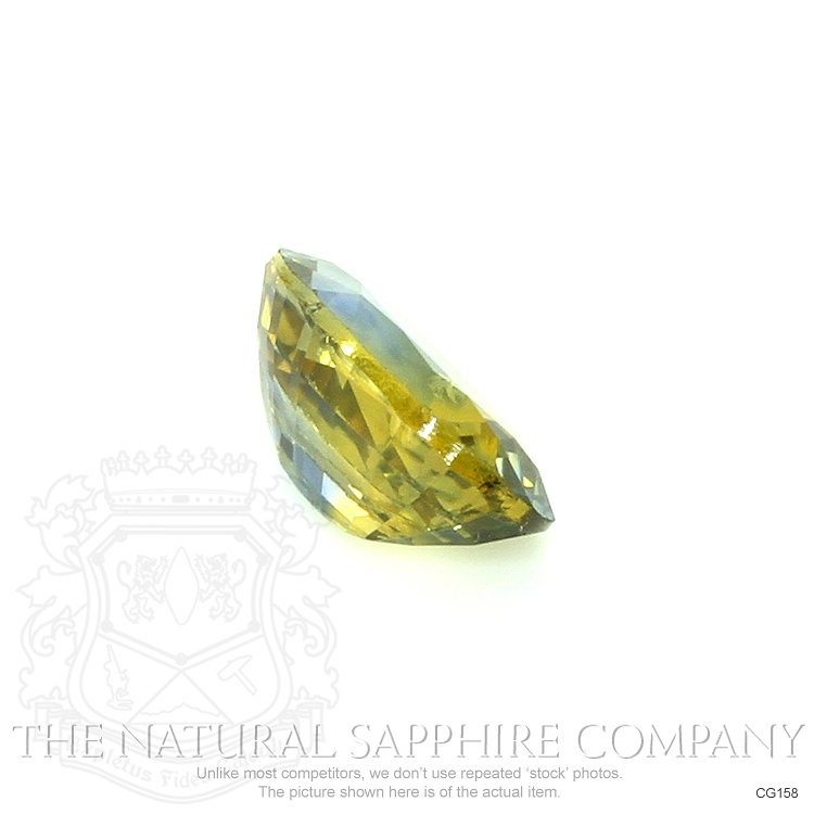 Natural Untreated Bi Color Sapphire CG158 Image 3