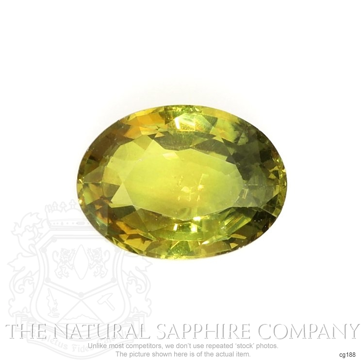 Natural Untreated Bi Color Sapphire CG188 Image