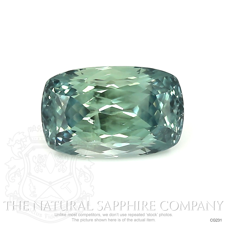 Natural Untreated Bi Color Sapphire CG231 Image