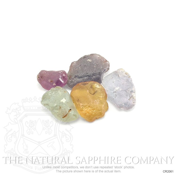 Natural Untreated Crystal Sapphire CR2061 Image 2