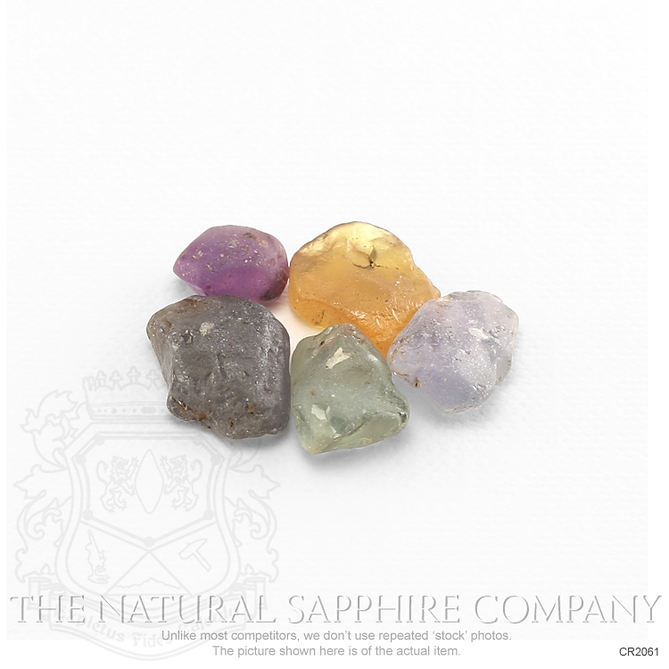Natural Untreated Crystal Sapphire CR2061 Image 3