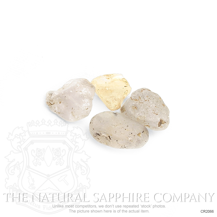 Natural Untreated Crystal Sapphire CR2066 Image