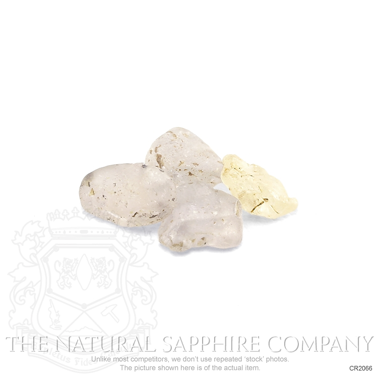 Natural Untreated Crystal Sapphire CR2066 Image 2