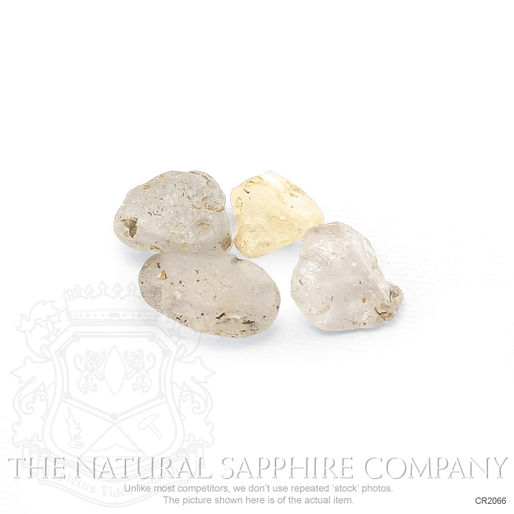Natural Untreated Crystal Sapphire CR2066 Image 3