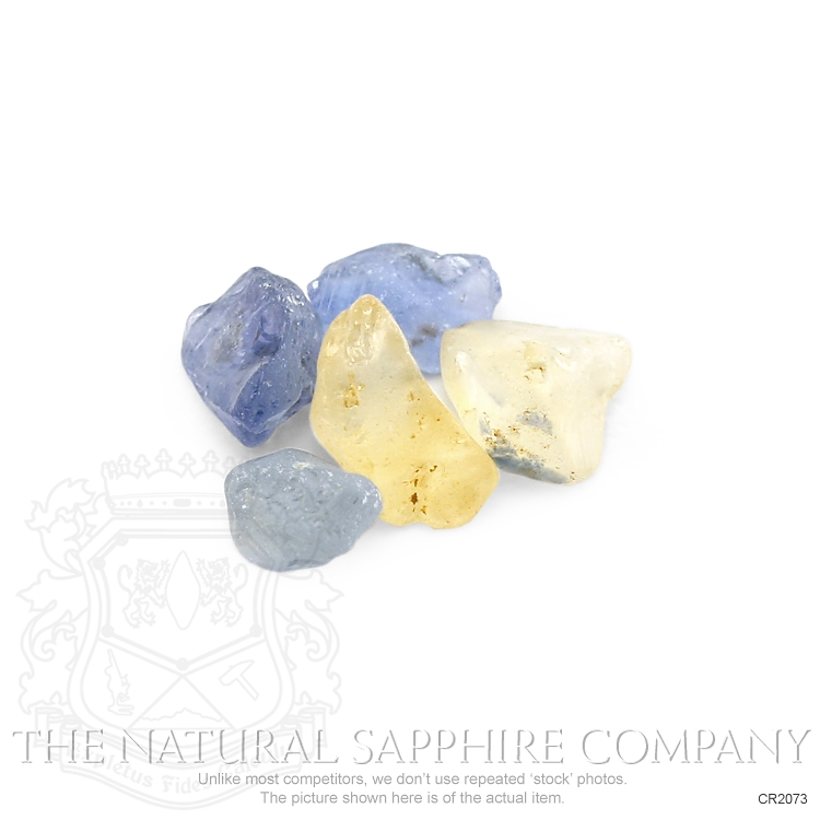 Natural Untreated Crystal Sapphire CR2073 Image