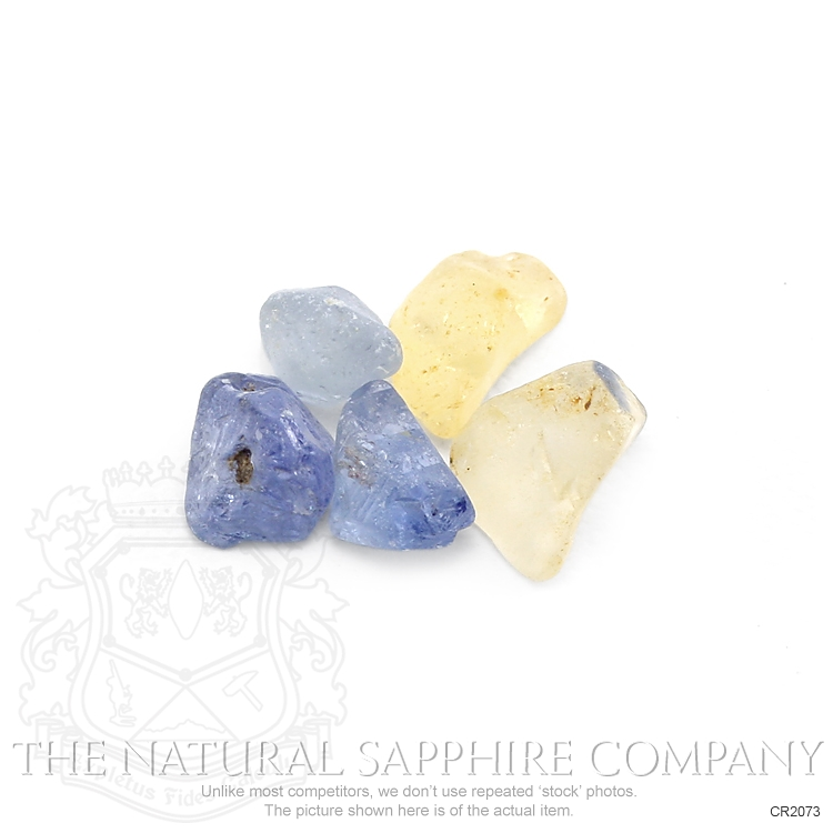 Natural Untreated Crystal Sapphire CR2073 Image 2