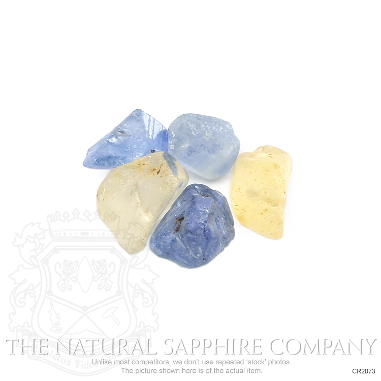 Natural Untreated Crystal Sapphire CR2073 Image 3