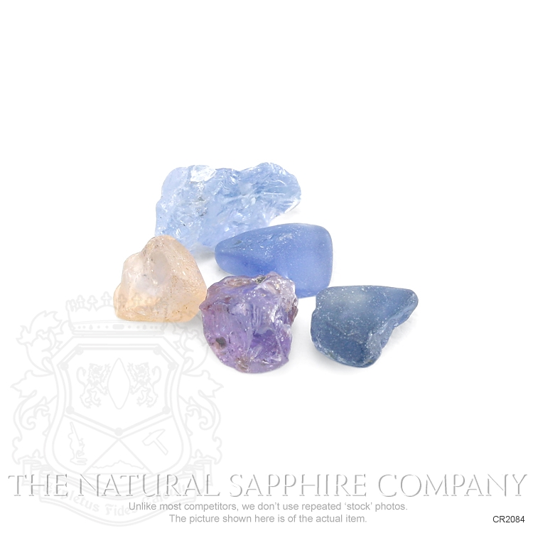 Natural Untreated Crystal Sapphire CR2084 Image