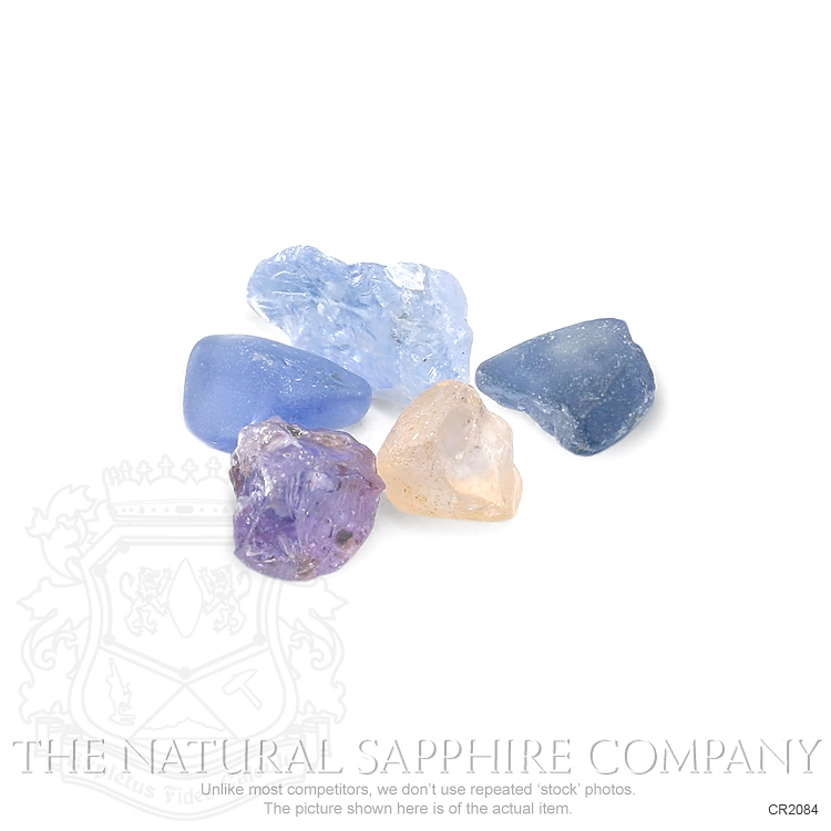 Natural Untreated Crystal Sapphire CR2084 Image 2