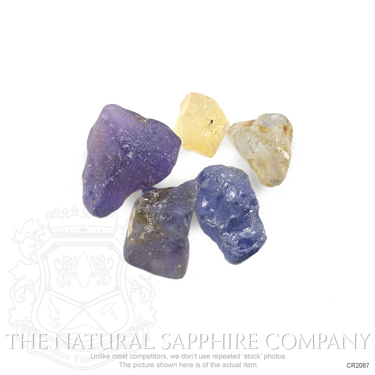 Natural Untreated Crystal Sapphire CR2087 Image