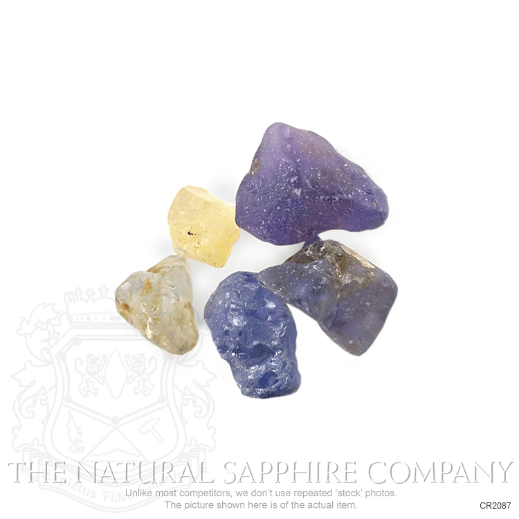Natural Untreated Crystal Sapphire CR2087 Image 2