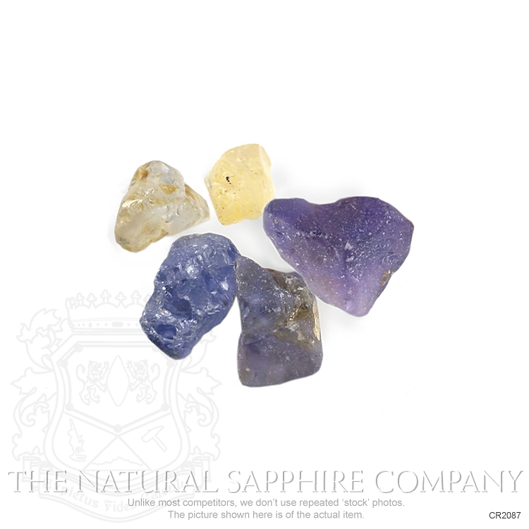 Natural Untreated Crystal Sapphire CR2087 Image 3