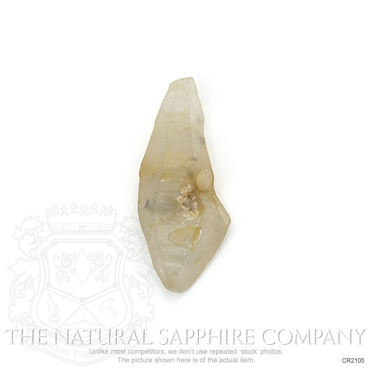 Natural Untreated Crystal Sapphire CR2105 Image 2
