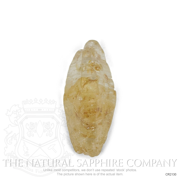 Natural Untreated Crystal Sapphire CR2130 Image 2