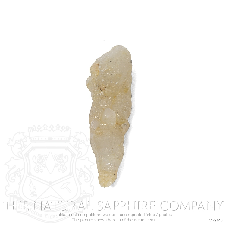 Natural Untreated Crystal Sapphire CR2146 Image 2