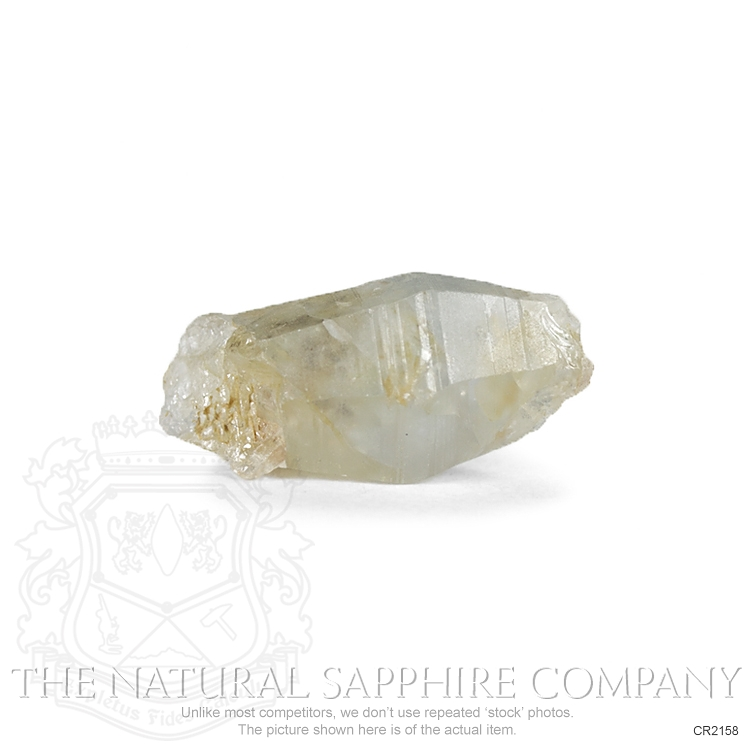 Natural Untreated Crystal Sapphire CR2158 Image