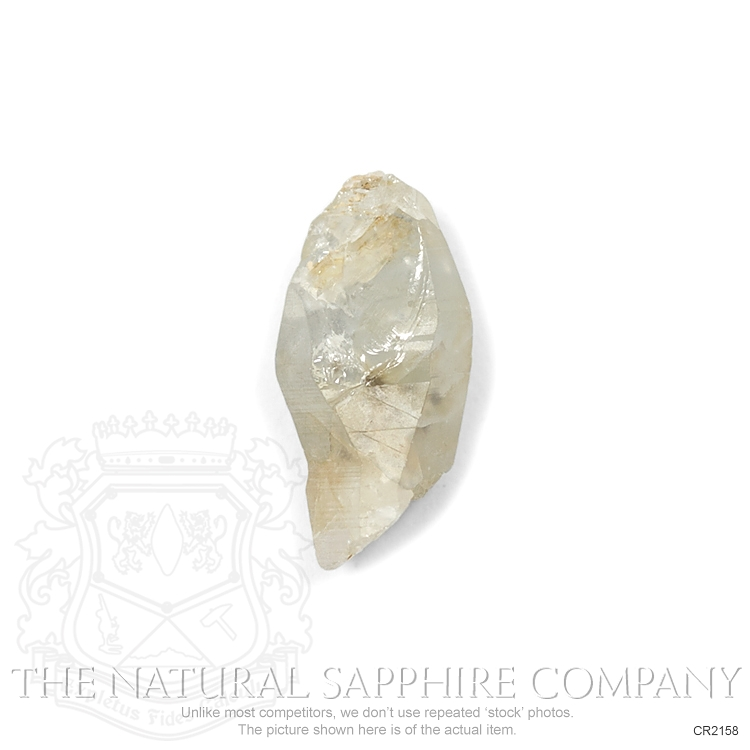 Natural Untreated Crystal Sapphire CR2158 Image 2