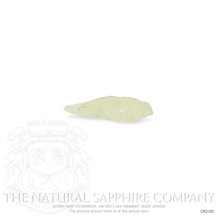 Natural Untreated Crystal Sapphire CR2182 Image 2