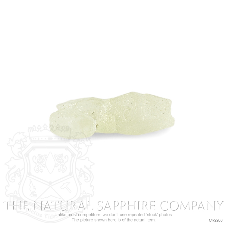 Natural Untreated Crystal Sapphire CR2263 Image 3