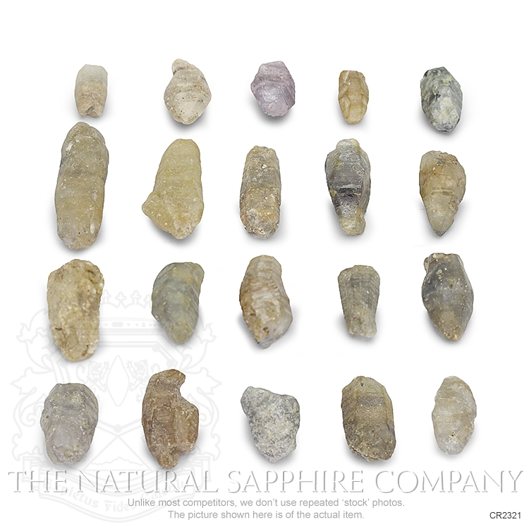 Natural Untreated Crystal Sapphire CR2321 Image
