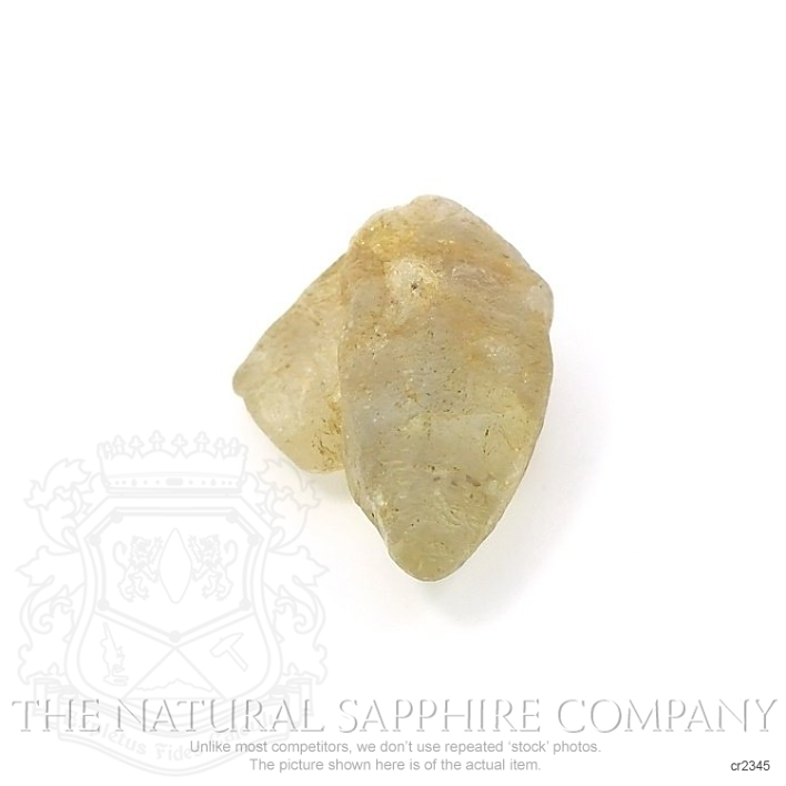 Natural Untreated Crystal Sapphire CR2345 Image