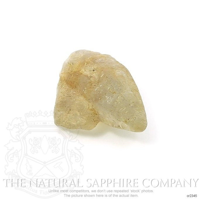 Natural Untreated Crystal Sapphire CR2345 Image 2