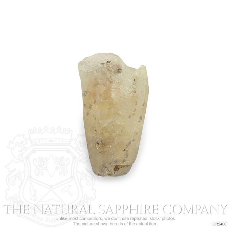 Natural Untreated Crystal Sapphire CR2400 Image