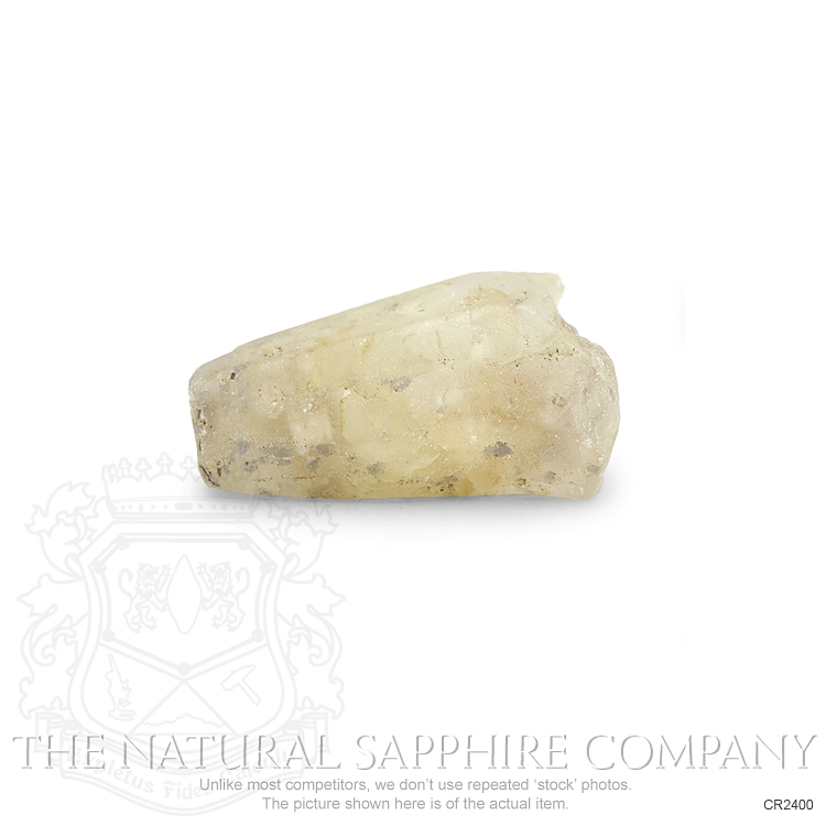 Natural Untreated Crystal Sapphire CR2400 Image 2