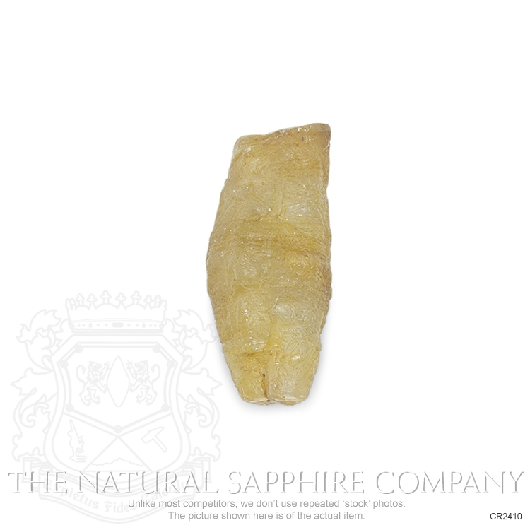 Natural Untreated Crystal Sapphire CR2410 Image