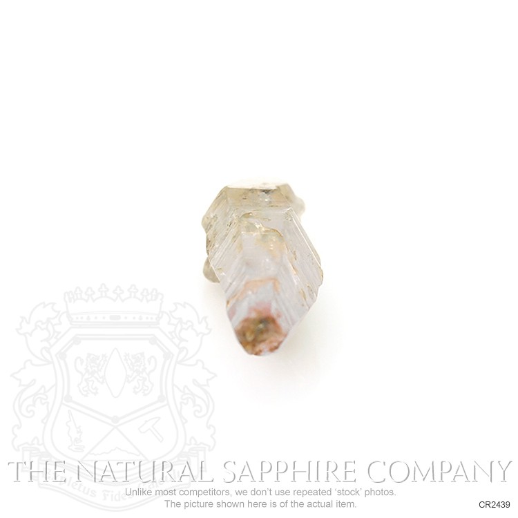 Natural Untreated Crystal Sapphire CR2439 Image 2