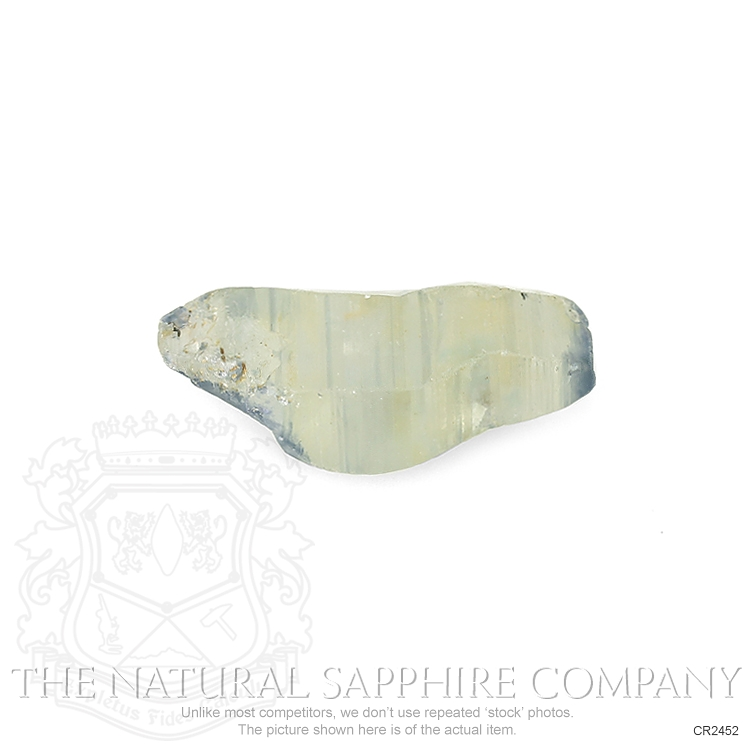 Natural Untreated Crystal Sapphire CR2452 Image 2