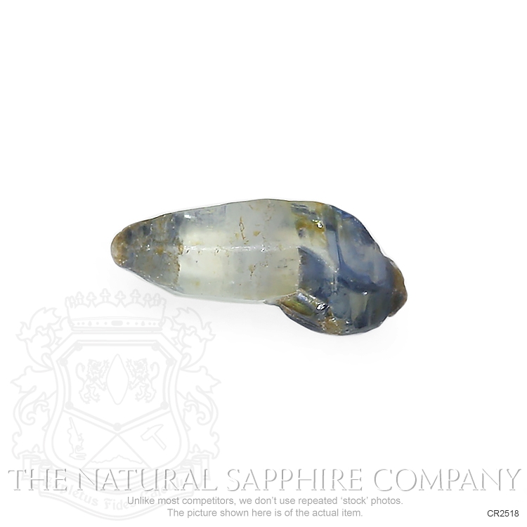 Natural Untreated Crystal Sapphire CR2518 Image 3