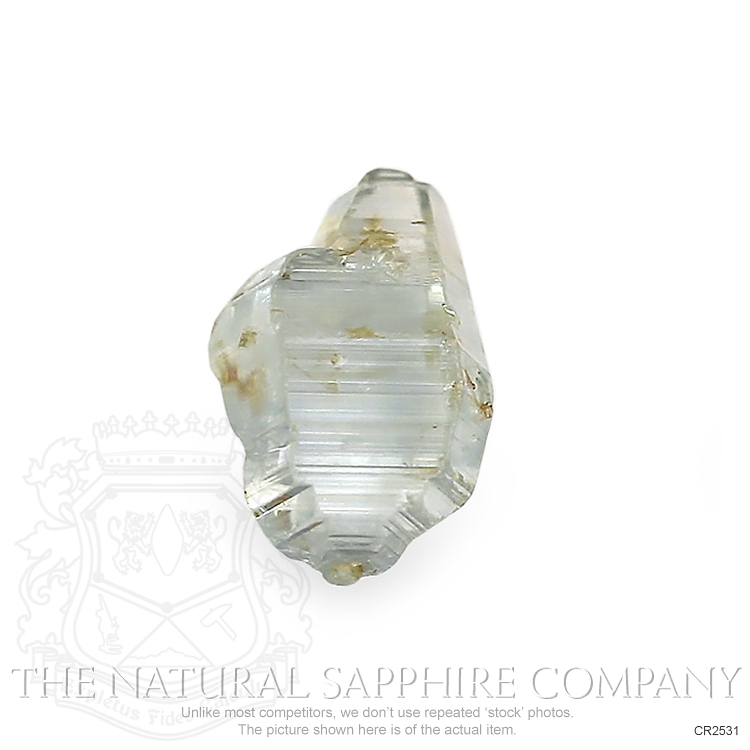 Natural Untreated Crystal Sapphire CR2531 Image