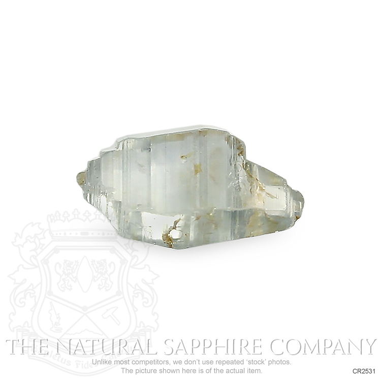 Natural Untreated Crystal Sapphire CR2531 Image 2