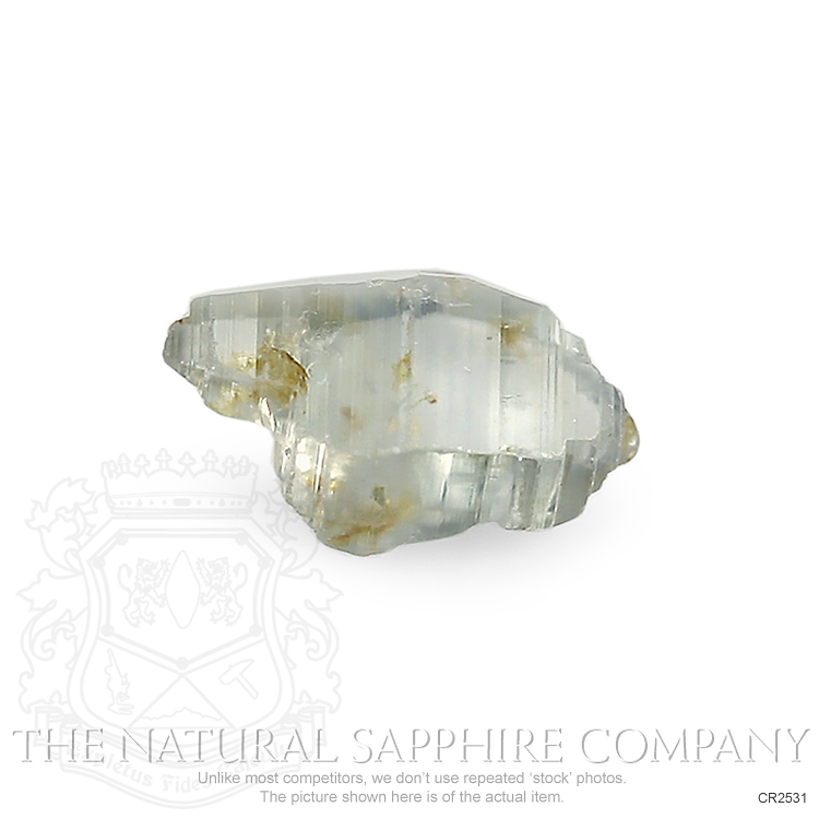 Natural Untreated Crystal Sapphire CR2531 Image 3