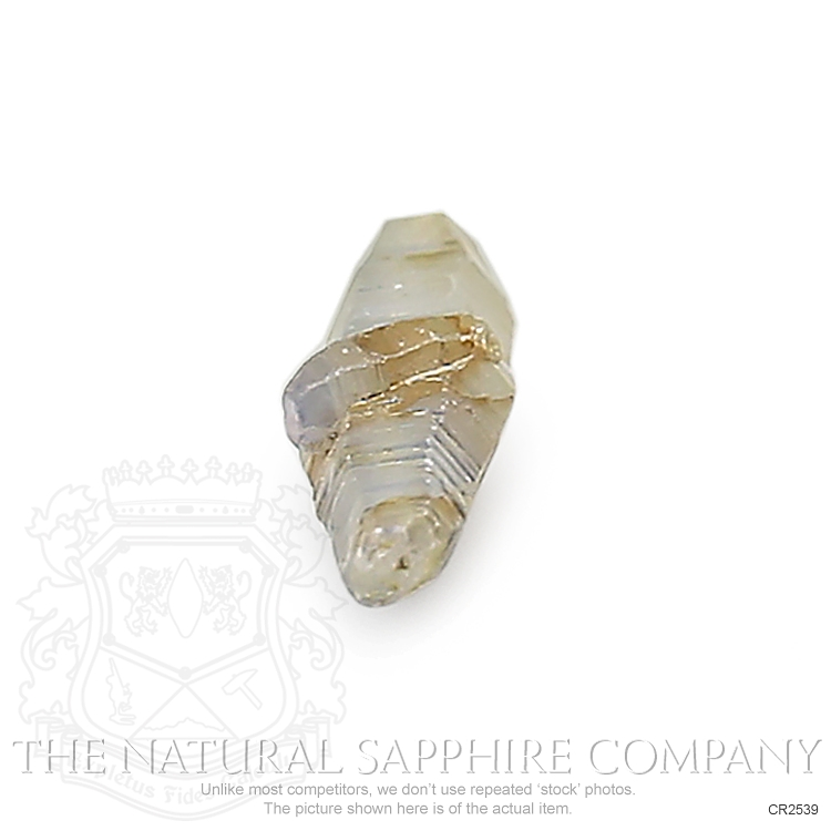 Natural Untreated Crystal Sapphire CR2539 Image 2