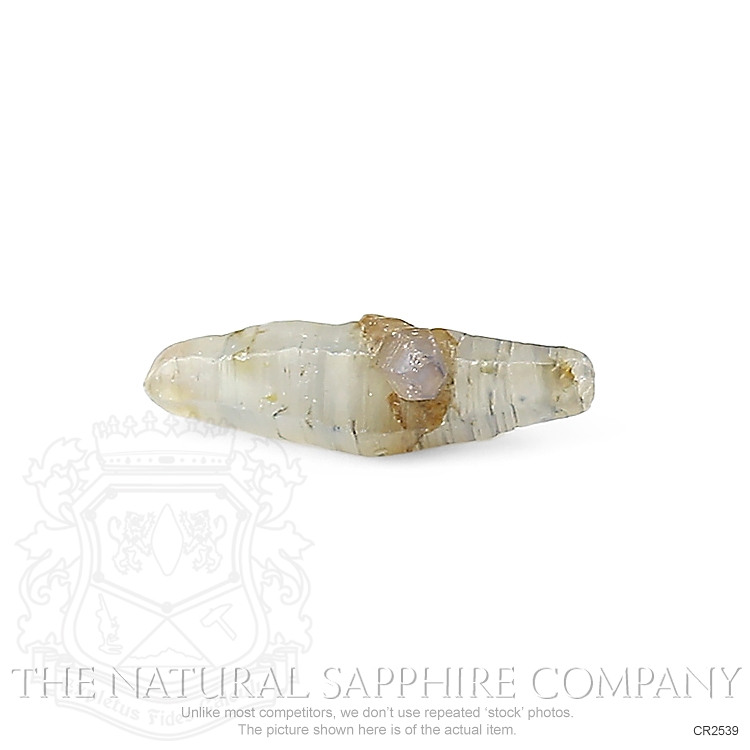 Natural Untreated Crystal Sapphire CR2539 Image 3