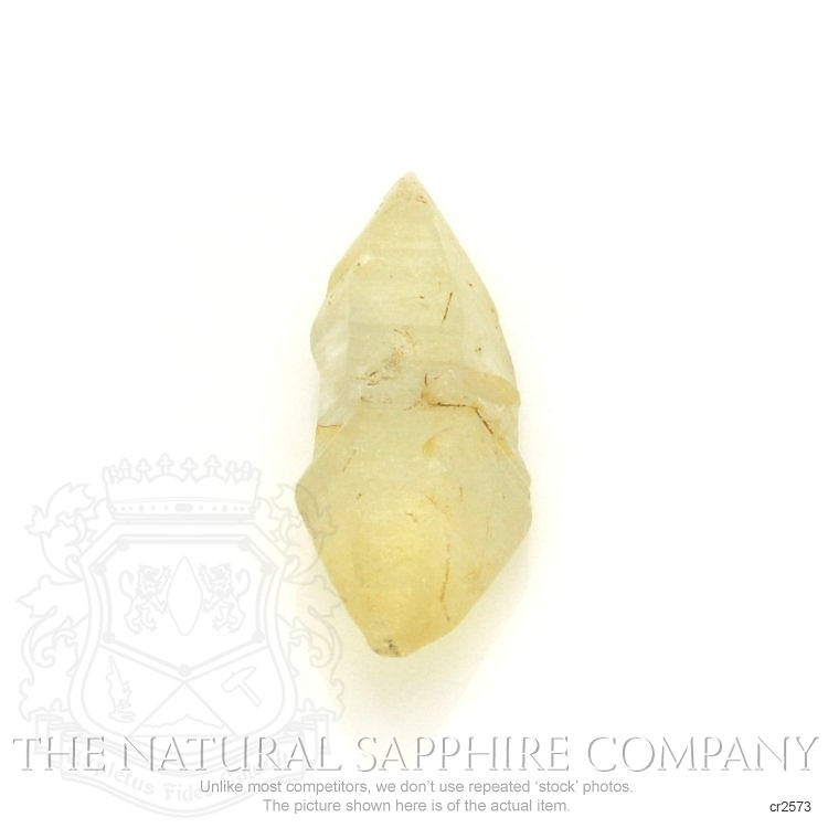 Natural Untreated Crystal Sapphire CR2573 Image