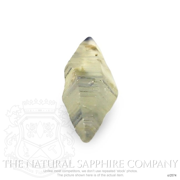Natural Untreated Crystal Sapphire CR2574 Image