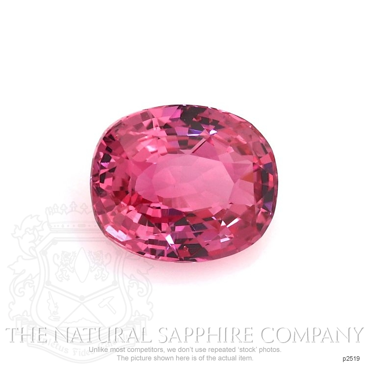 Natural Pink Sapphire P2519 Image