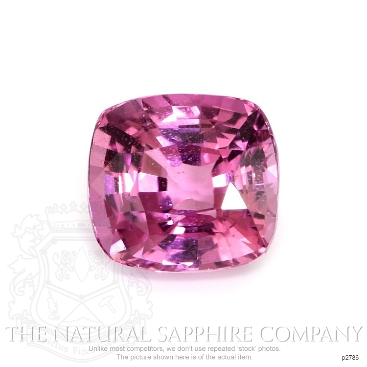 Natural Untreated Pink Sapphire P2786 Image