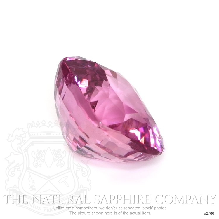 Natural Untreated Pink Sapphire P2786 Image 3